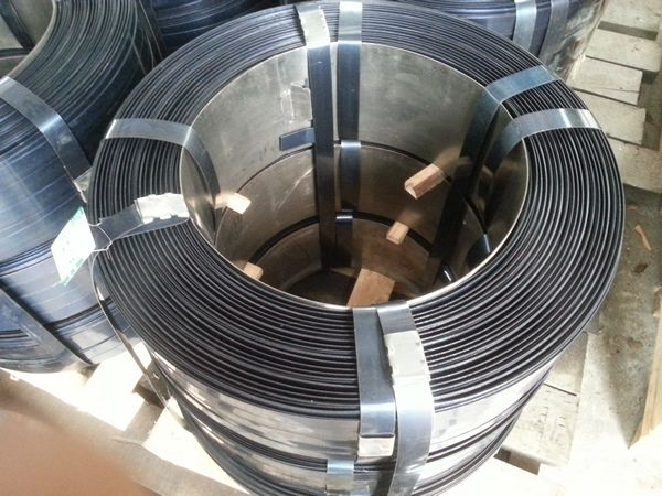 high tensile painted steel strappings