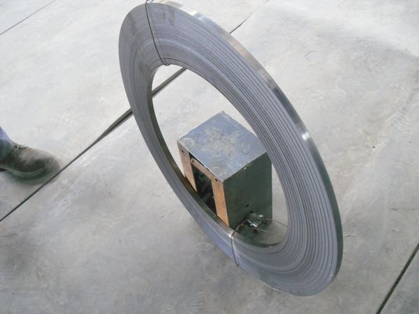 narrow steel strip